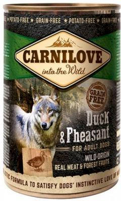 Carnilove Våtfôr Duck & Pheasant 6 x 400 g