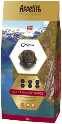 Appetitt Dog Maintenance Large Breed 12 kg