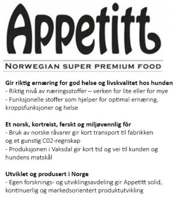 Appetitt Dog Skin & Coat