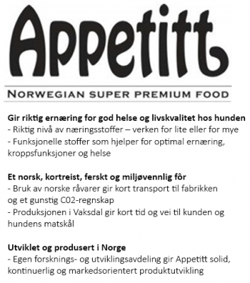 Appetitt Dog Sensitive Fish Medium Breed