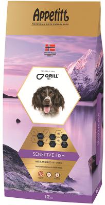 Appetitt Dog Sensitive Fish Medium Breed 12 kg
