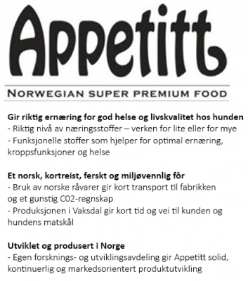 Appetitt Dog Sensitive Chicken Medium Breed