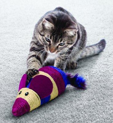 Kong Cat Wrangler Scratch Mouse