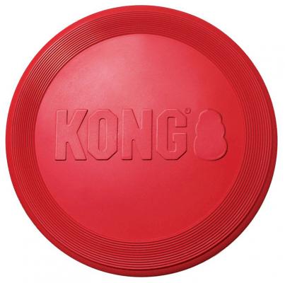 Kong Flyer Frisbee Kasteleke Rød