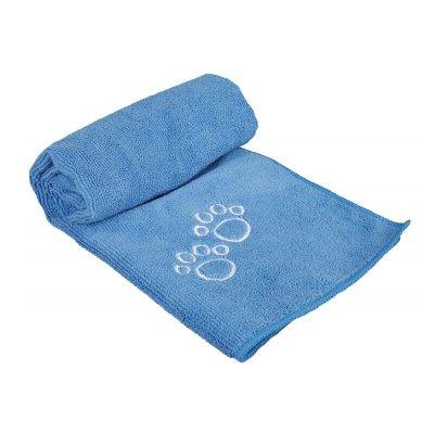 Trixie Absorberende Håndkle i Mikrofiber for Hund og Katt Blå