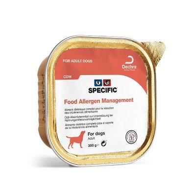 Specific Dog Food Allergy Management våtfôr CDW