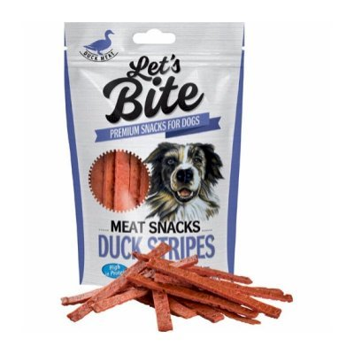 Lets Bite Meat Snacks Andestrimler