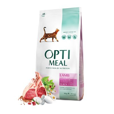 OPTIMEAL Cat Adult & Senior Sensitive Digestion Lamb