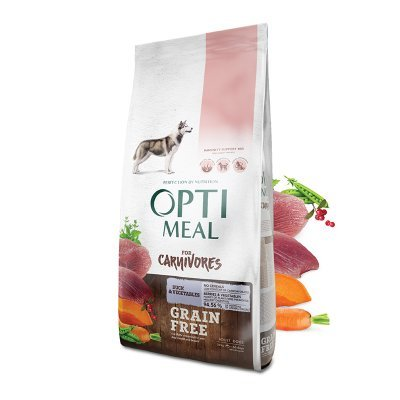 OPTIMEAL Dog All Age & All Breeds Grain Free Duck & Veggies