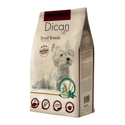 Dican Up Dog Adult Small Breeds Chicken & Rice