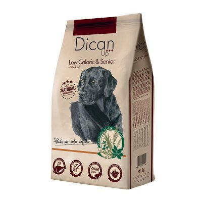 Dican Up Dog Adult & Senior Low Caloric All Breeds Turkey & Rice