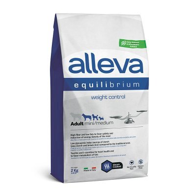 Alleva Equilibrium Dog Adult & Senior Mini/Medium Weight Control